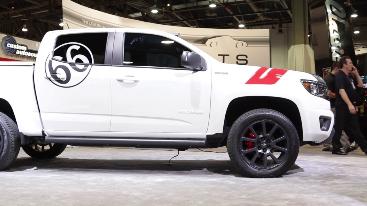 sema 2016 chevrolet performance displays performance upgrades for the colorado youtube. Black Bedroom Furniture Sets. Home Design Ideas