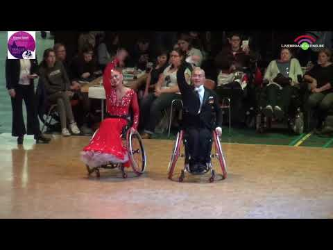 Duo Standard Class 2 and 1 | Malle 2017 | World Para Dance Sport