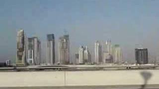 Dubai Marina under construction
