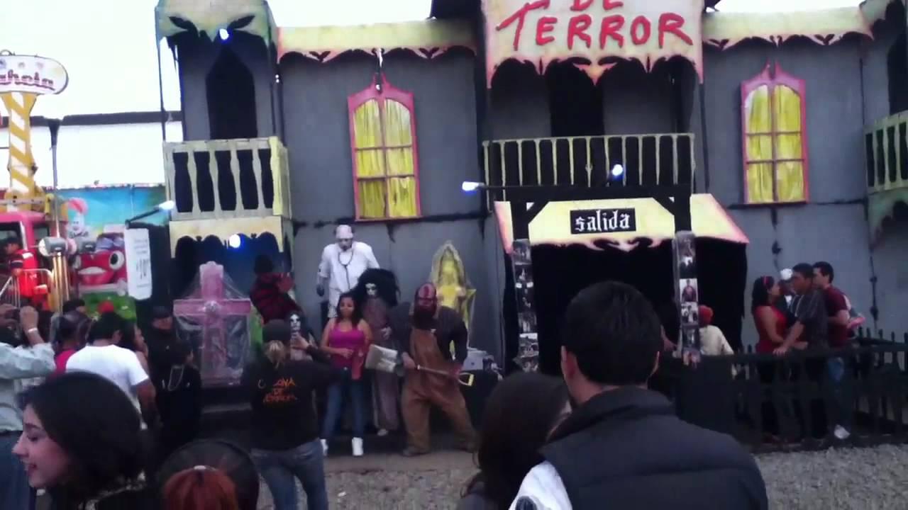 Feria de silao gto 2012 casa del terror  YouTube