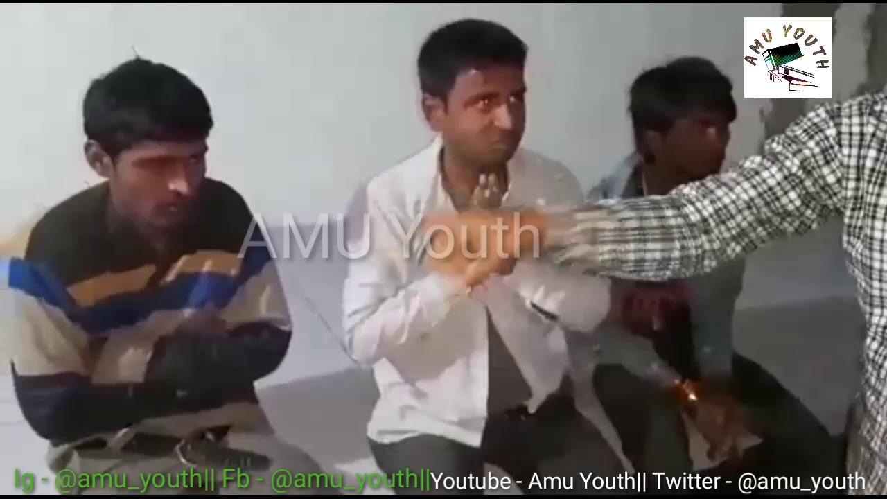 Rss guns attack on protesters at chakan { bara gaon} gaya bihar