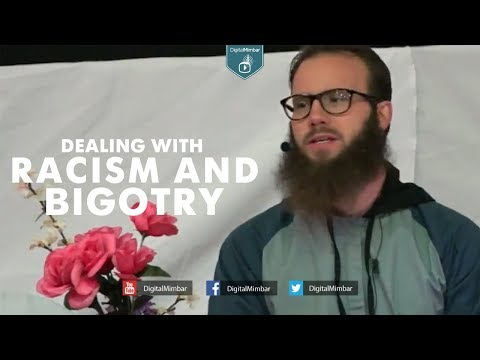 Dealing with racism and bigotry - Yusha Evans