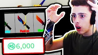 SPENDING 6,000 ROBUX! (Roblox Murder Mystery 2)