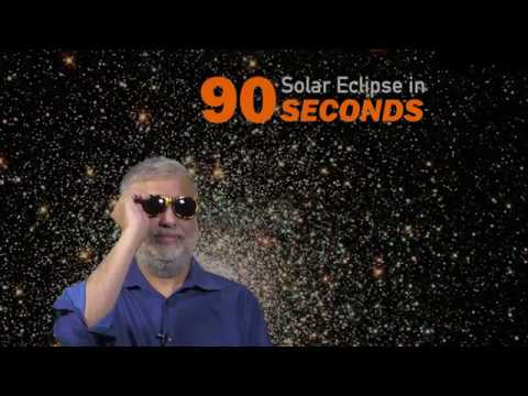 Solar eclipse in 90 seconds