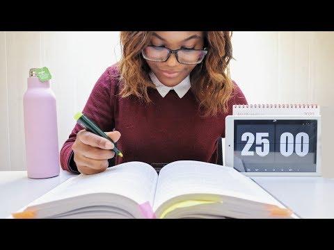 ESTUDIA CONMIGO 7 HORAS A TIEMPO REAL  | Pomodoro | Josie Goms