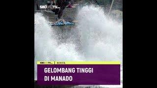 GELOMBANG TINGGI DI MANADO #videotext