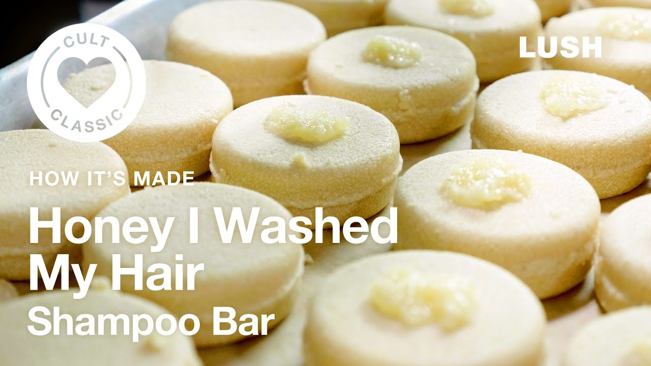 Lush How It's Made: Honey I Washed My Hair Shampoo Bar
