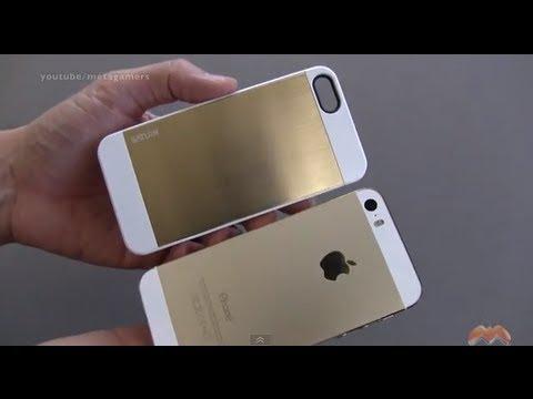 iphone 5s case spigen sgp saturn in gold youtube. Black Bedroom Furniture Sets. Home Design Ideas