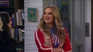 """I Know, Right?"" Elizabeth Regen on 2 Broke Girls S04E08"