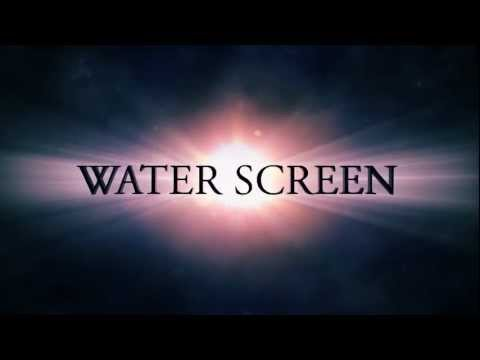The WaterScreen: Laser & Video Projection
