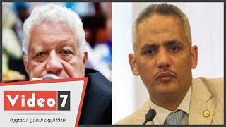النائب محمد عطا سليم لمرتضى منصور: أنا إخوان وأنت بتجيب لنا حريم
