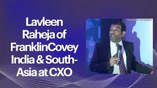 Lavleen Raheja of FranklinCovey India