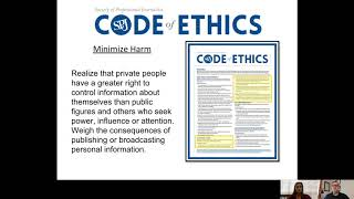 SPJ Ethics -- How to Cover the Elections Ethically