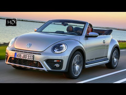 2016 Volkswagen Beetle Dune Convertible Exterior, Interior & Road Drive HD