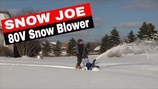 SNOW JOE iON SNOW BLOWER- 80V ION24SB-XR