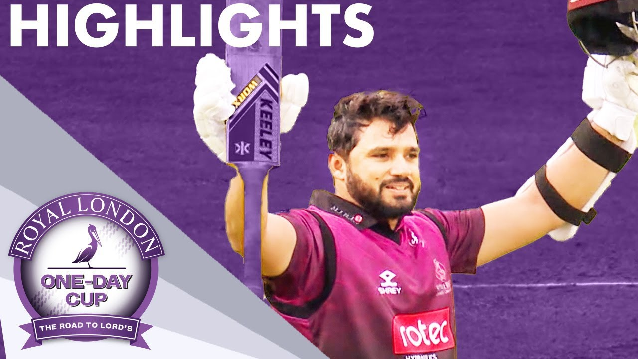 Azhar & Trego Hit Superb Hundreds | Somerset v Essex | Royal London One-Day Cup 2019 - Highlights