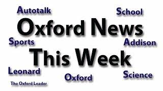 Oxford News This Week: 10-22-18