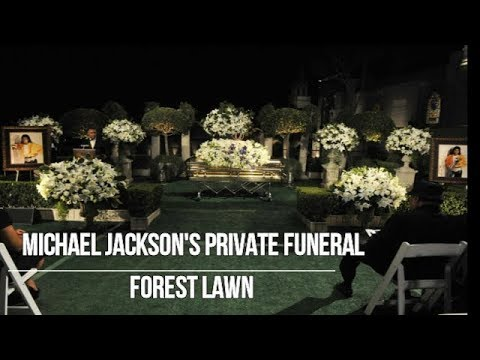 Michael Jackson Forest Lawn 2009 Private funeral Gone too soon