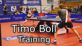 Timo Boll | Training 2019 Table Tennis