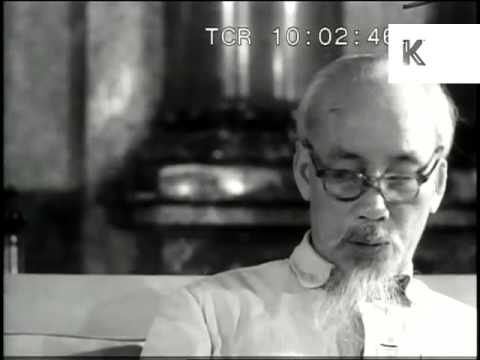 1960s Interview with Ho Chi Minh, Vietnam