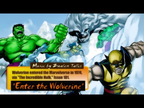 ENTER THE WOLVERINE  MUSIC INSPIRED  THE INCREDIBLE HULK ISSUE 181  MUSIC  ZAALEN TALLIS