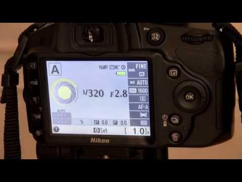 Nikon D3200 Lesson 2 Indoor Settings Aperture Priorty mode