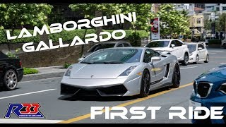 Passenger ride on Lamborghini Gallardo around BGC