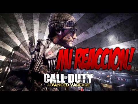 MI REACCIÓN - Call Of Duty Advanced Warfare Multiplayer Reveal
