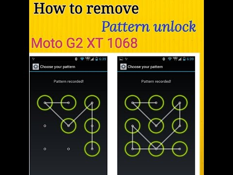 How to remove pattern unlock Moto G 2nd gen without Pc தமிழ்