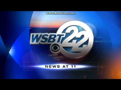 WSBT: WSBT 22 News At 11pm Open--2016