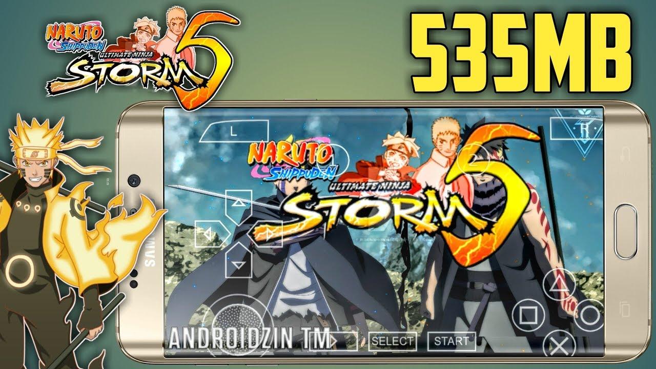 download naruto ninja storm 5 psp