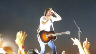 Chris Janson playing some Hank Williams and more at Farm Tour 2016 in Batesville MS Video