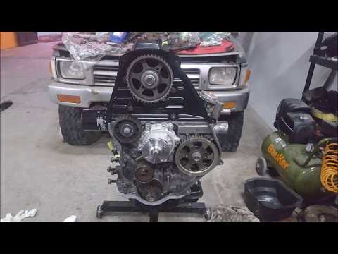 Toyota hilux 93 rebuilt engine 3L turbo