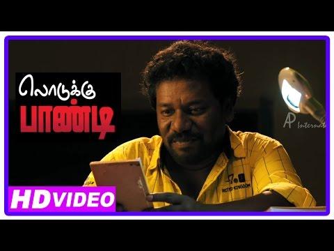 Lodukku Pandi Tamil Movie | Scenes | Karunas Reading Story And Visualise
