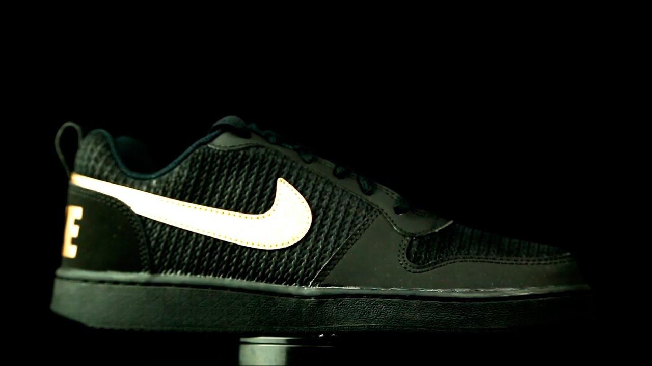 detailed look a83c5 ba7ae Nike Court Borough Low Premium negro.