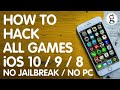 HOW TO HACK ANY IOS GAMES FOR FREE / BEST TUTORIALS!!!!