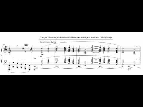 "Harmonic Analysis: Debussy ""Engulfed Cathedral"""