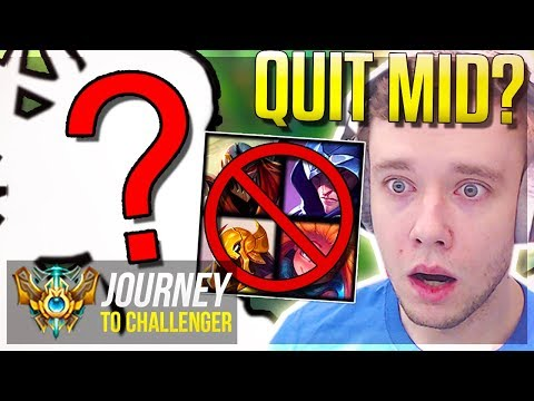 SHOULD I QUIT MID FOR THIS NEW ROLE?? - Journey To Challenger | League of Legends