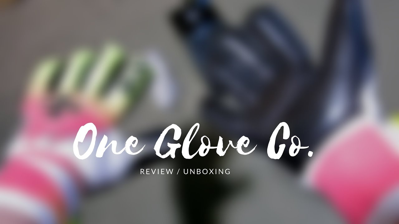 One Glove Co. Geo Tempest Goalkeeper Glove - Review Unboxing - YouTube 9663e2b38
