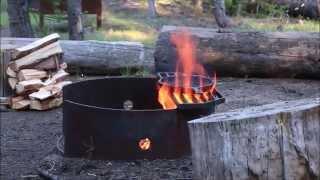 Crater Lake camping trip