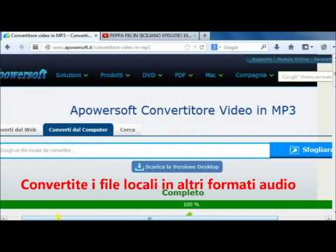 Convertitore Video in MP3 - Convertite gratuitamente i video in file MP3