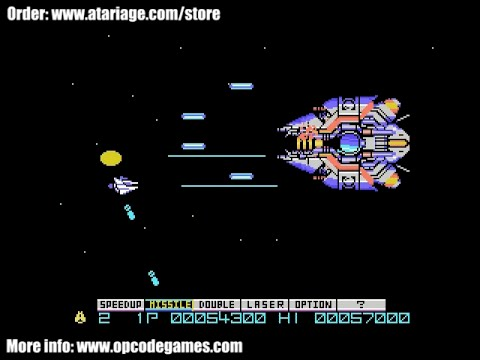 Gradius For ColecoVision - Homebrew game by Opcode Games - AMAZING!