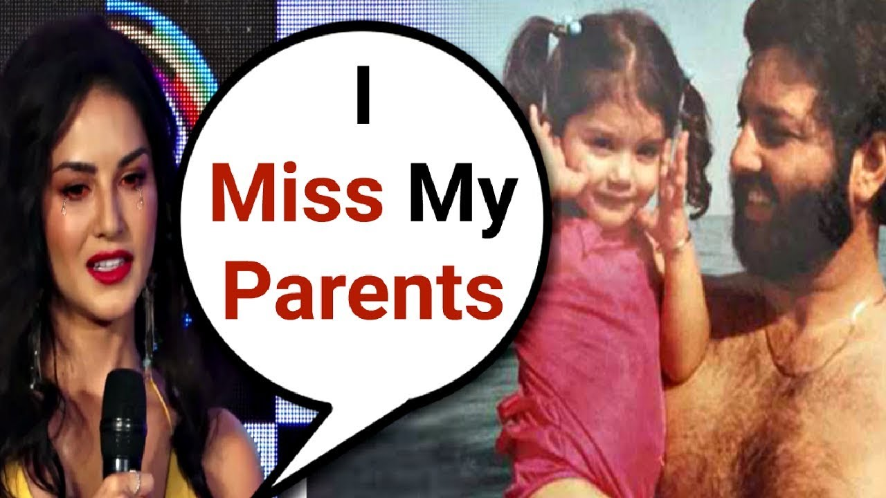 Sunny Leone Gets Emotional While Talking About Her Parents
