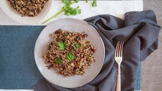 Nicole Taylors Wild Rice Pilaf