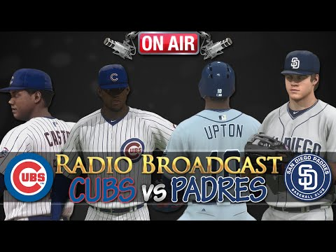 MLB 14 The Show: Chicago Cubs vs San Diego Padres - Radio Broadcast