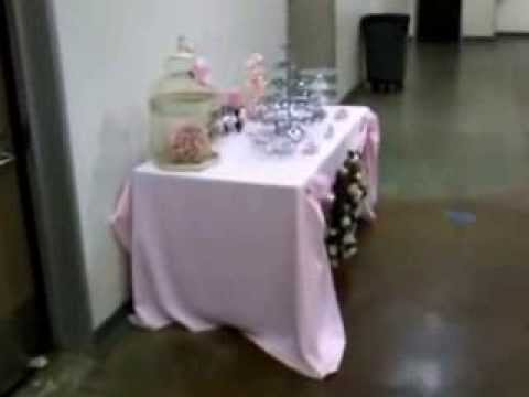 Baby Shower Setup