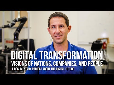 Digital Transformation: Interview with Peter Stone, Pioneer in Machine Learning and Robotics