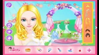 Princess Wedding Salon Cartoon Video Game For Girls