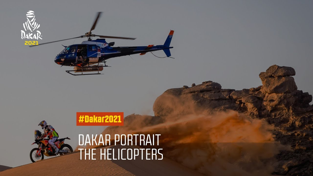 #DAKAR2021 - Stage 12 - The helicopters