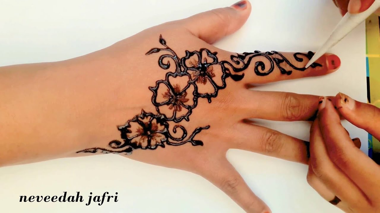 Henna And Tattoo Art: ᴴᴰ Cute Elegant Henna Tattoo Art Designs (jasa Hena Indo